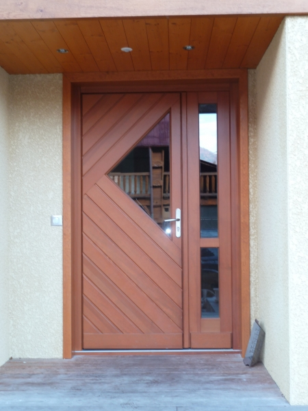 Porte en bois exterieur compare prices on pvc interior for Porte exterieur pvc